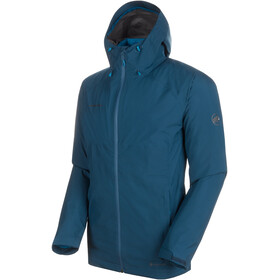 Mammut Convey 3in1 HS Hooded Jacket Herren wing teal-sapphire